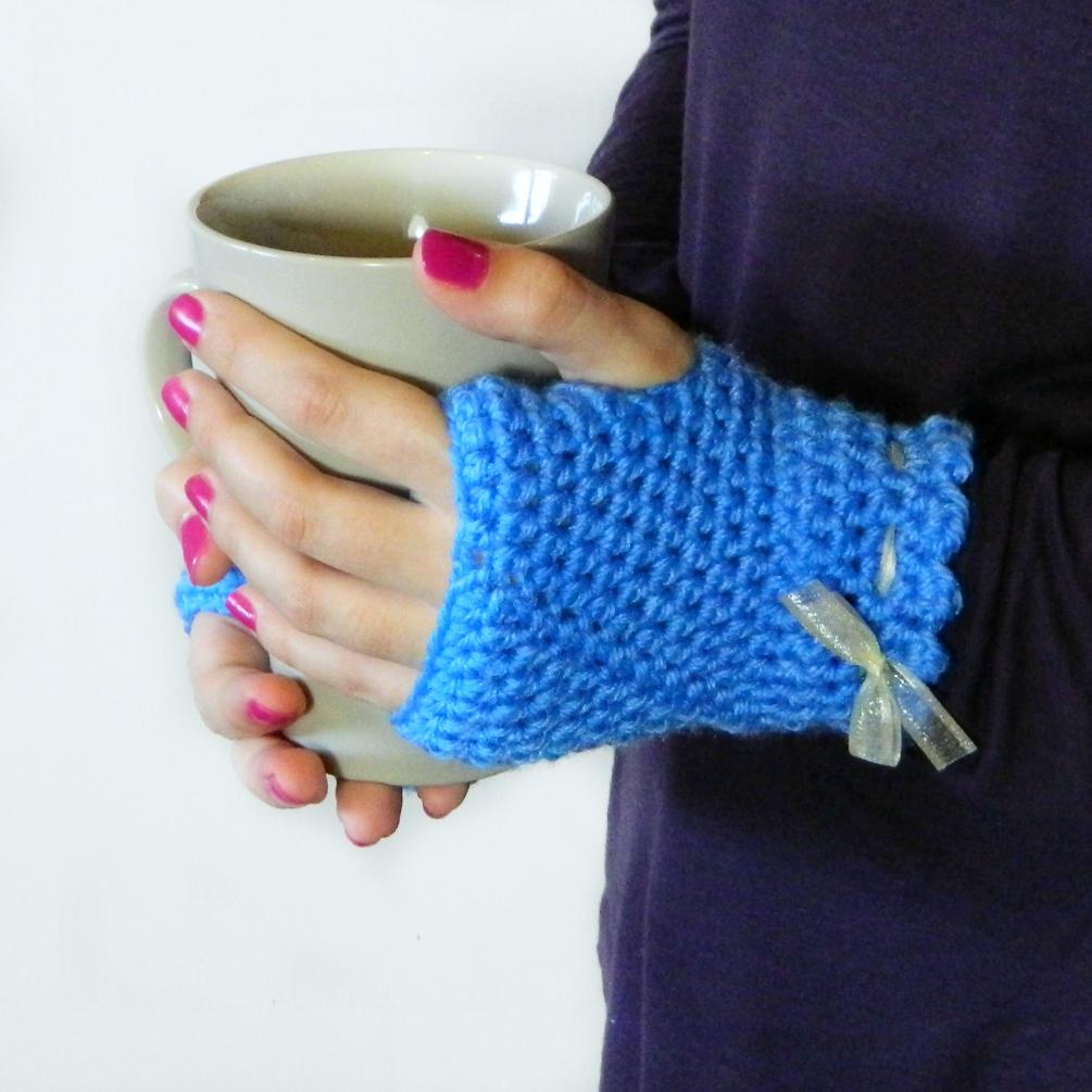 Free Patterns Crochet Fingerless Gloves : Hopeful Honey Craft, Crochet, Create: Princess In Pink ...