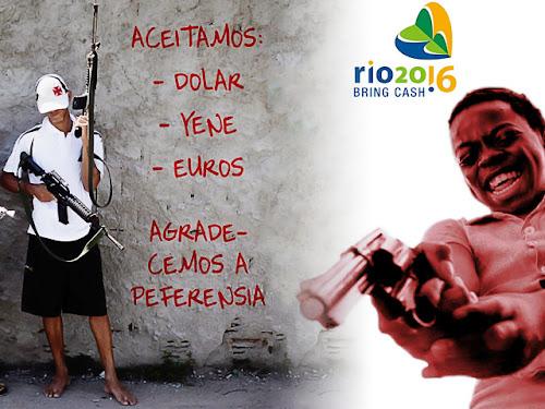 Dólar, Euro e Iene nas Olimpíadas do Rio 2016