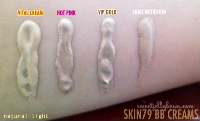 Use Skin79 BB Creams for pale skin