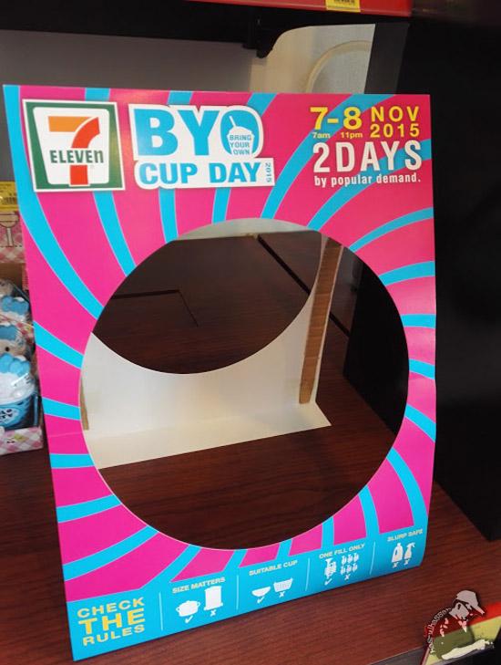 Slurpee BYO Cup Day 7 Eleven