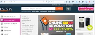 Tips Dan Cara Belanja Online Aman Di Lazada situs belanja online