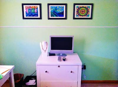 Jill Wright's Studio -- South Wall