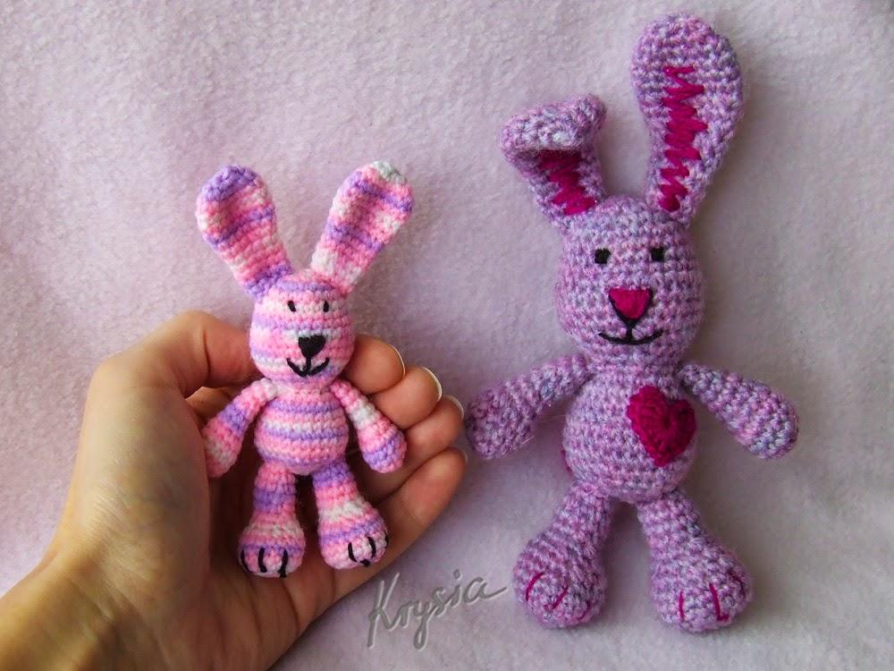 crochet bunny amigurumi rabbit