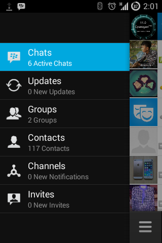 BBM Android Versi 2.0 APK for Smartphone and Tablet