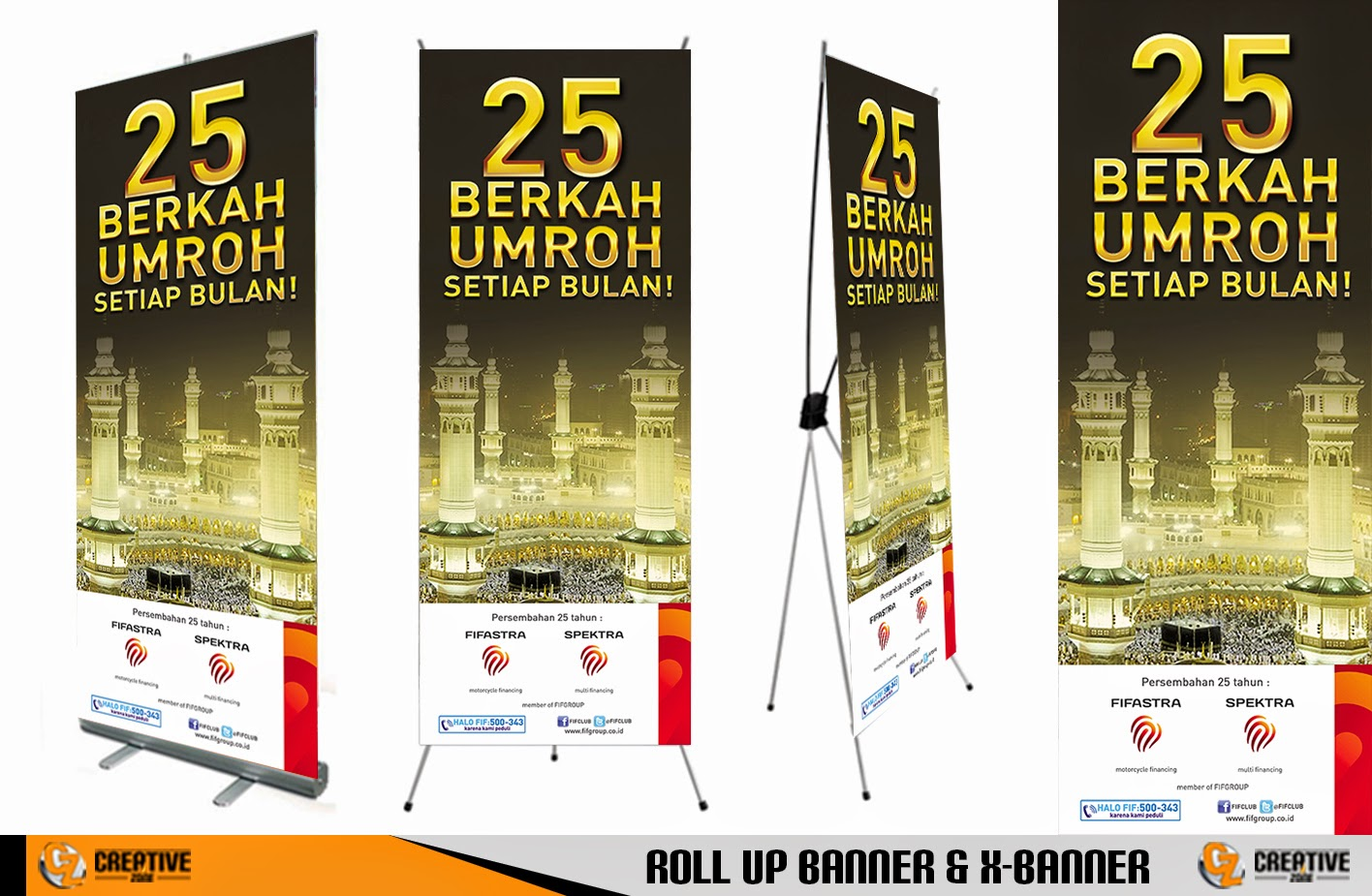 7 Contoh Desain Banner   Contoh Brosur, Contoh Spanduk