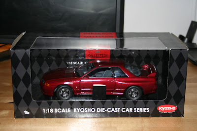 Kyosho Model Car in Box Display