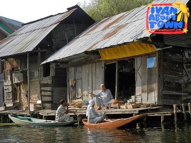 Shikara around Dal Lake, Srinagar, Kashmir