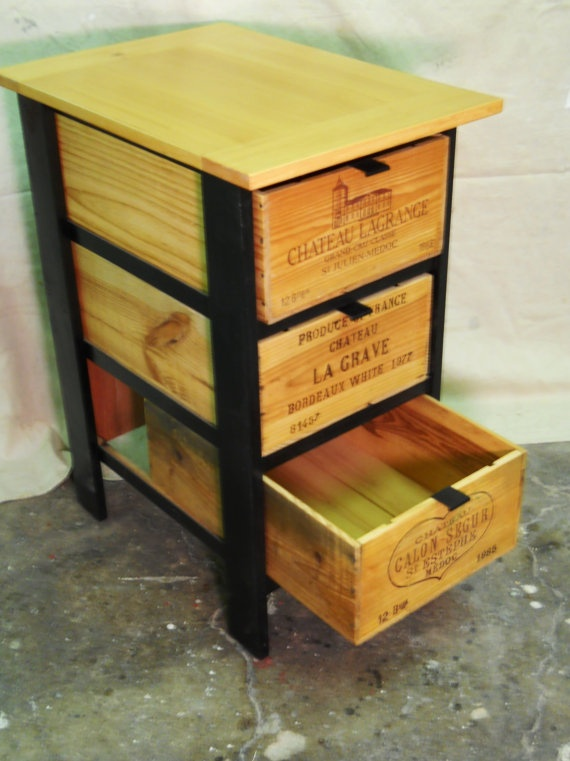 Wooden Wine Boxes Wine Crates 7 Wine Crate Furniture Ideas