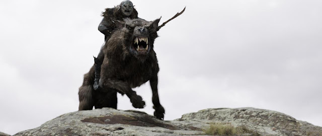 the hobbit, the warg