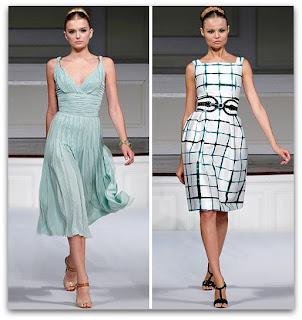 fotos de modelos de vestidos retro
