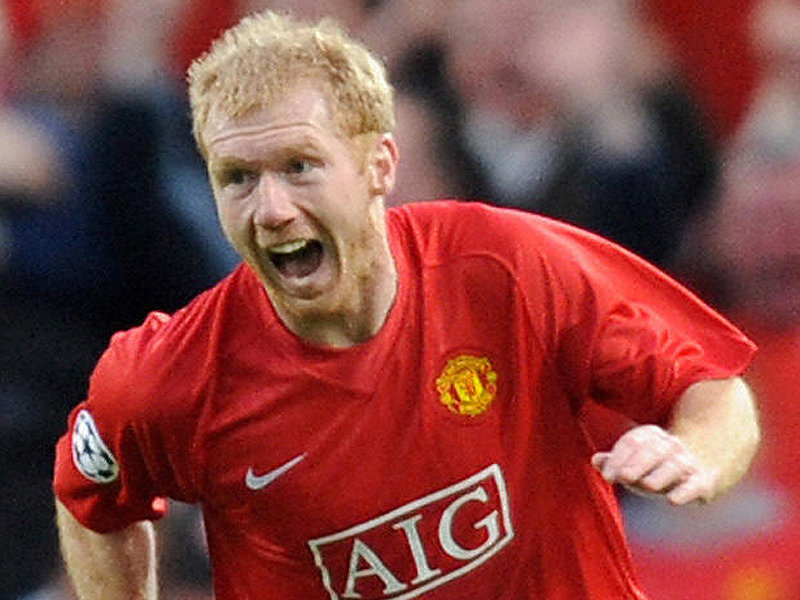 Paul Scholes - Wallpaper Actress