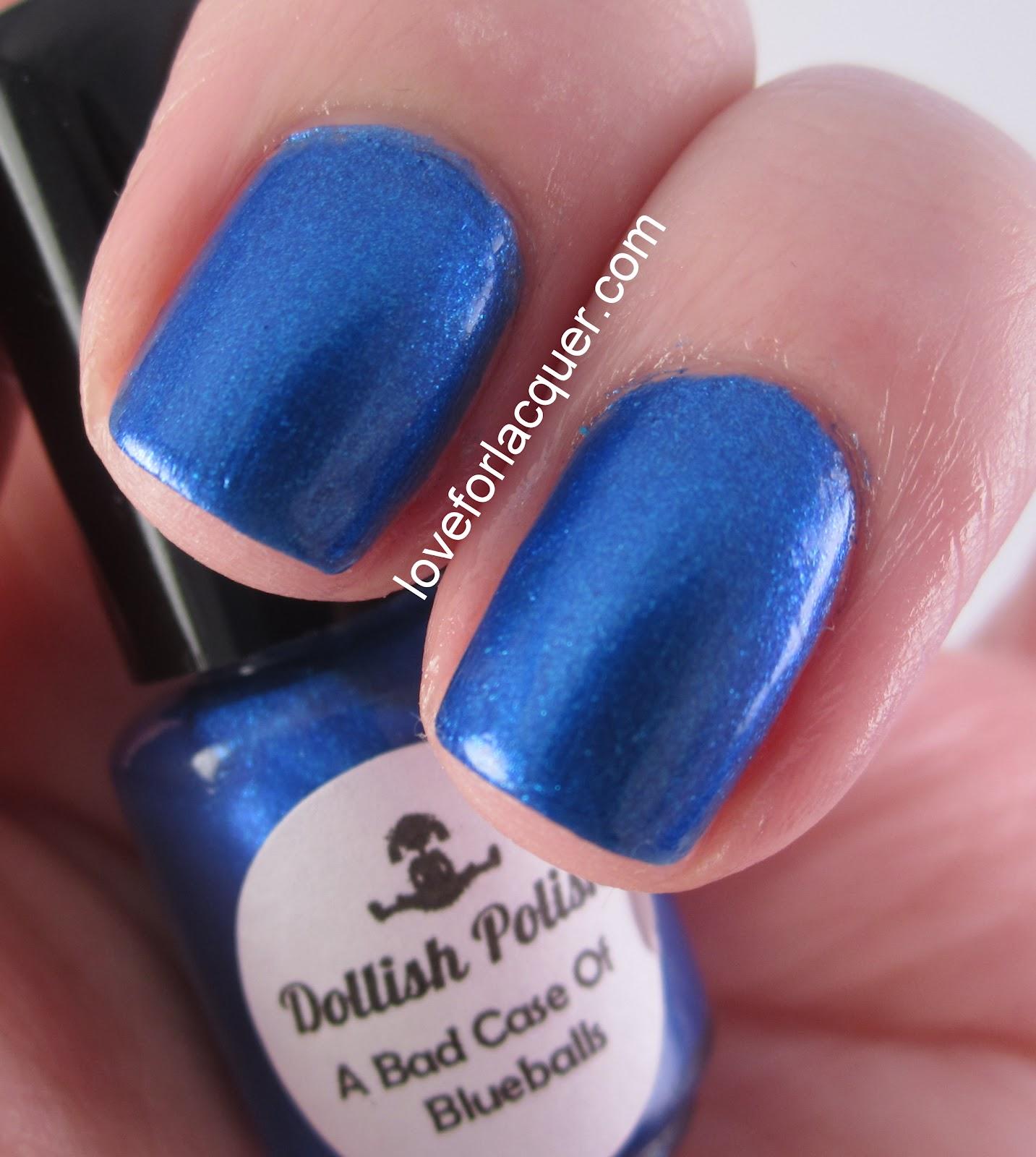 Bad Case Of Blueballs Gorgeous Cobalt Blue Shimmer