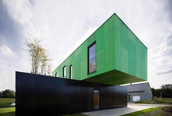 The final year container architecture 39 crossbox 39 house - Casa estructura metalica ...