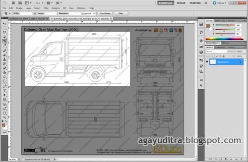 Design of indonesian cara setting blueprint untuk modelling mobil 3 save as menjadi file jpeg malvernweather Choice Image