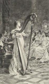 Victorian Harpist