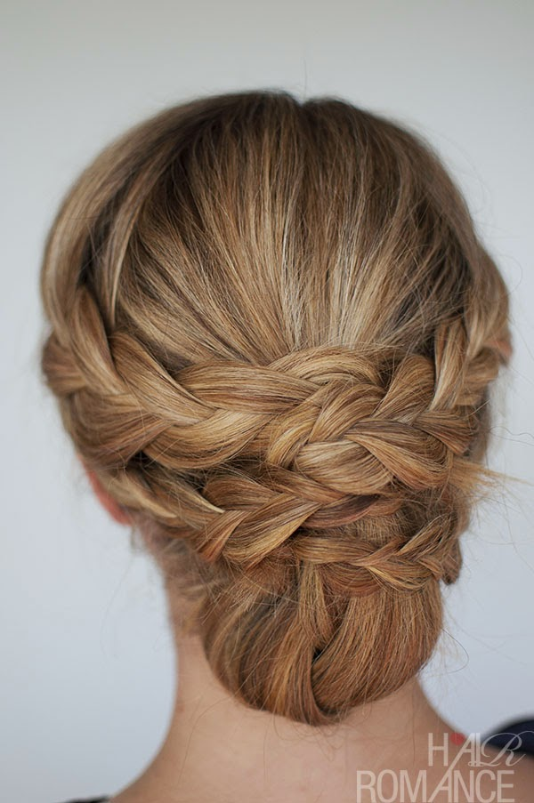 braid hairstyles for short hair tutorial}