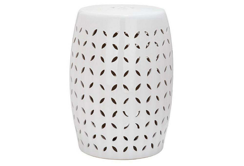 I Got My One Kings Lane E Mail This Morning On Their Current Sales And Saw  This Darling Little White Garden Stool Which Normally Retails For $250 On  Sale ...