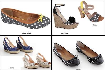 Fotos Sapatos e Sandálias Poá