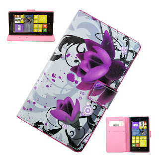 Flip Stand Wallet Card Hold Leather Case Cover Phone Accessory For Nokia Lumia
