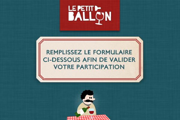 10 abonnements de 6 mois Le Petit Ballon (box de vin)