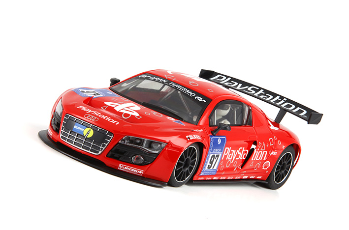 The Red Playstation #97 R8 Livery Is Simple But Impressive And Would Look  Fantastic Running Around The Track...so Many Slots, So Little Mullah!