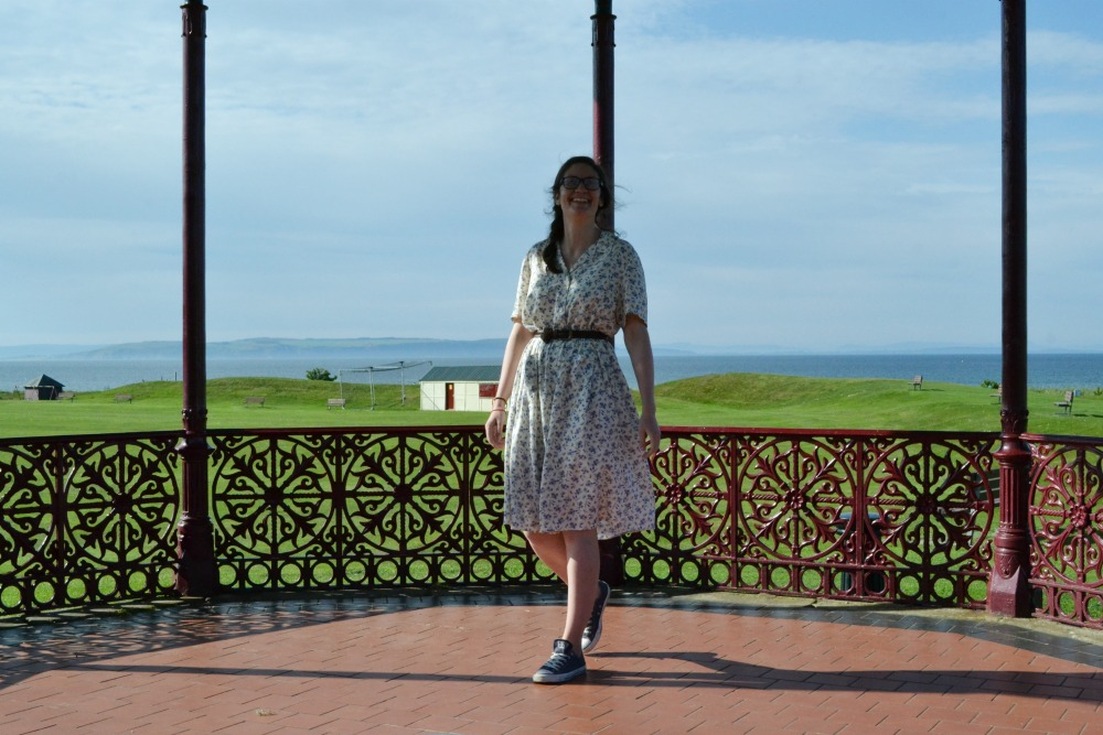 bandstand dancing vintage dress nairn