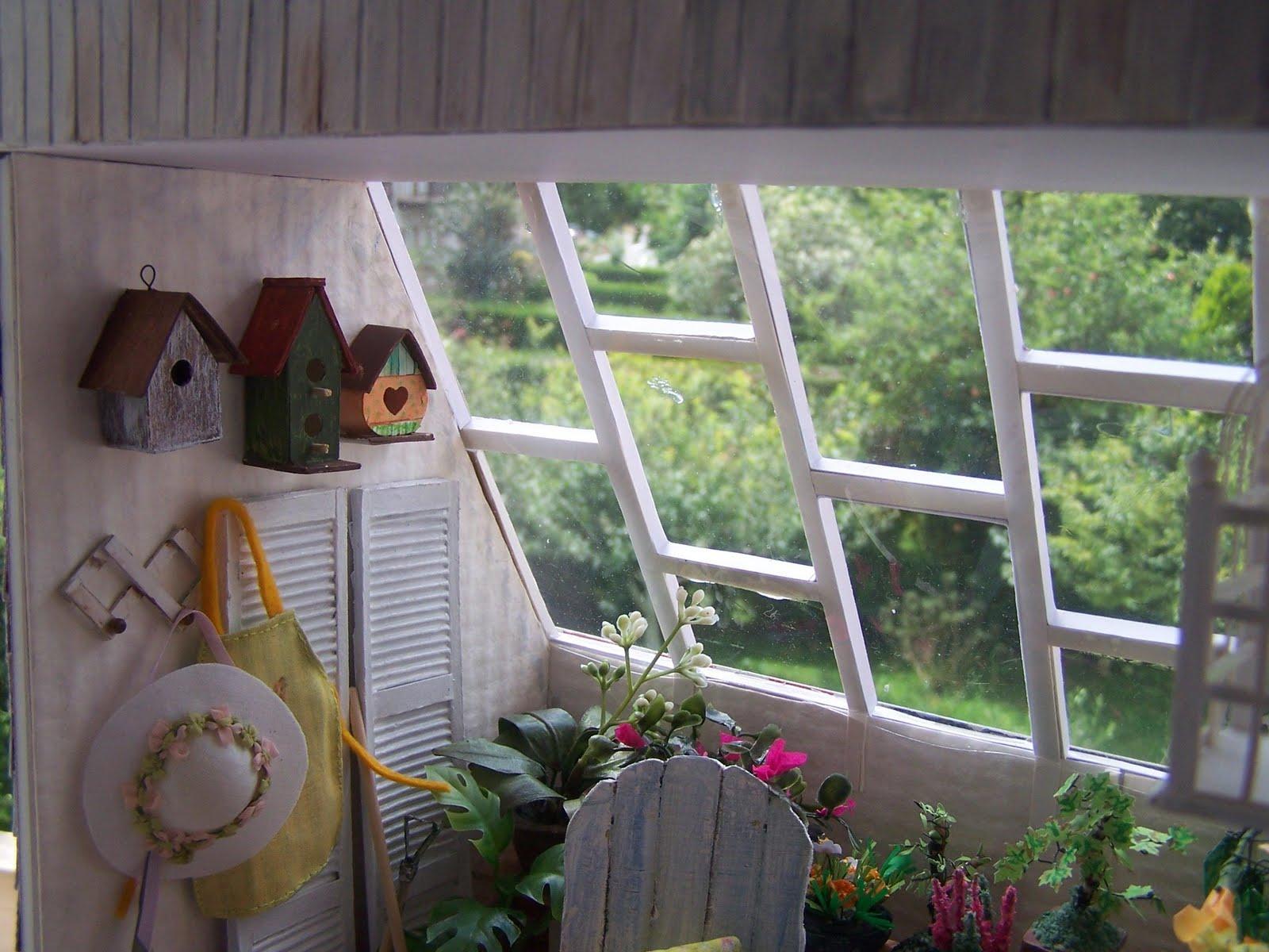 Miniaturas y casas de mu ecas invernadero making of - Invernadero para casa ...