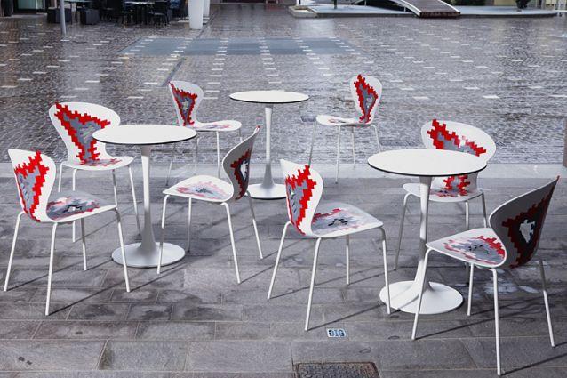 silla diseño hosteleria terraza bar