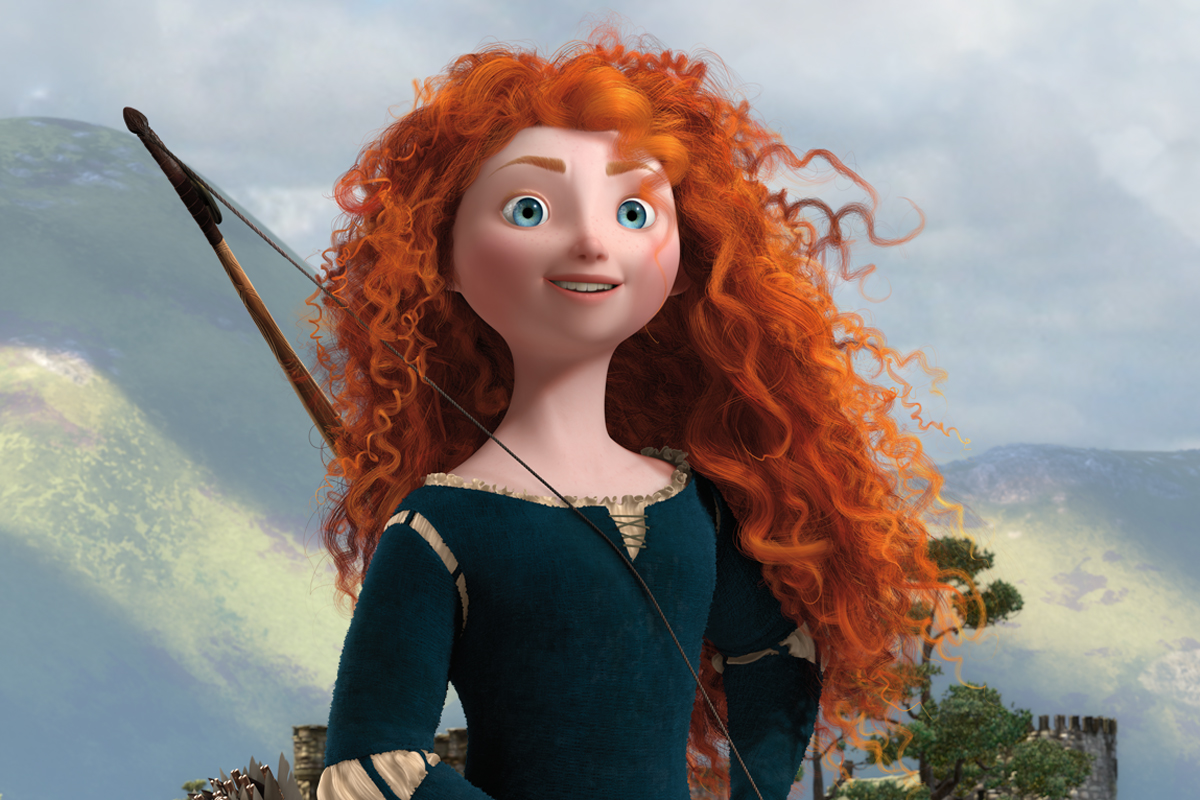 It's just an image of Comprehensive Pictures of Merida From Brave