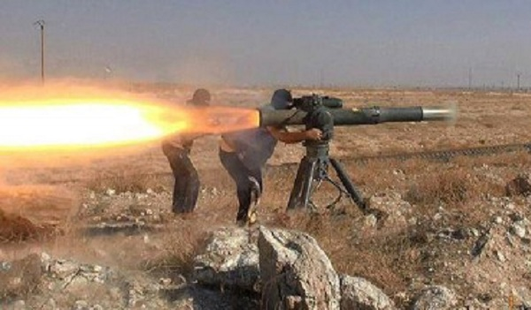 Στρατιώτες της Συρίας πήραν λάφυρα αμερικανικούς TOW από τους τζιχαντιστές
