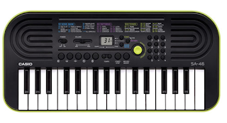 dan mini keyboard Casio SA-46