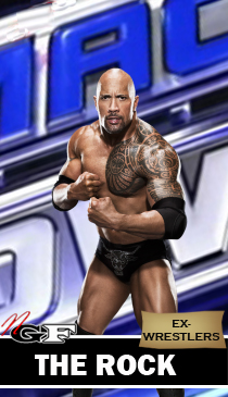 Ex-Wrestlers THE+ROCK