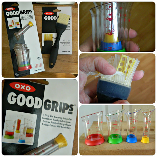 OXO Good Grips Pastry Brush and Measuring Cups