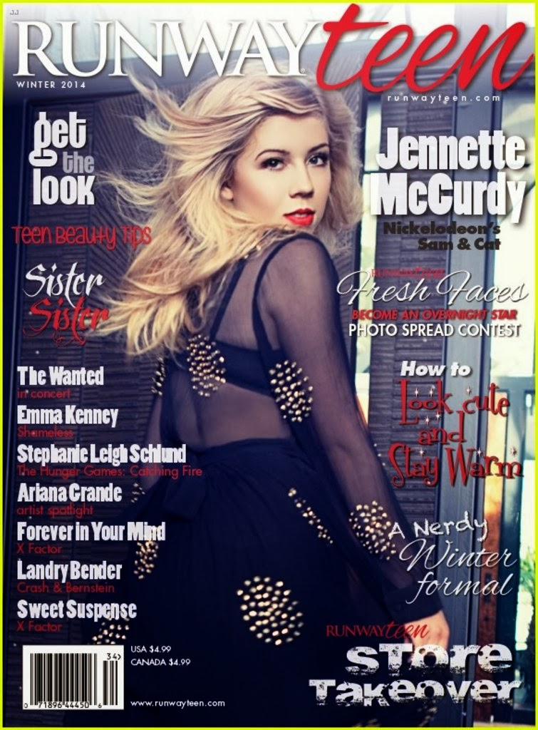 Jennette McCurdy HQ Pictures Runway Teen Magazine Photoshoot Winter 2014