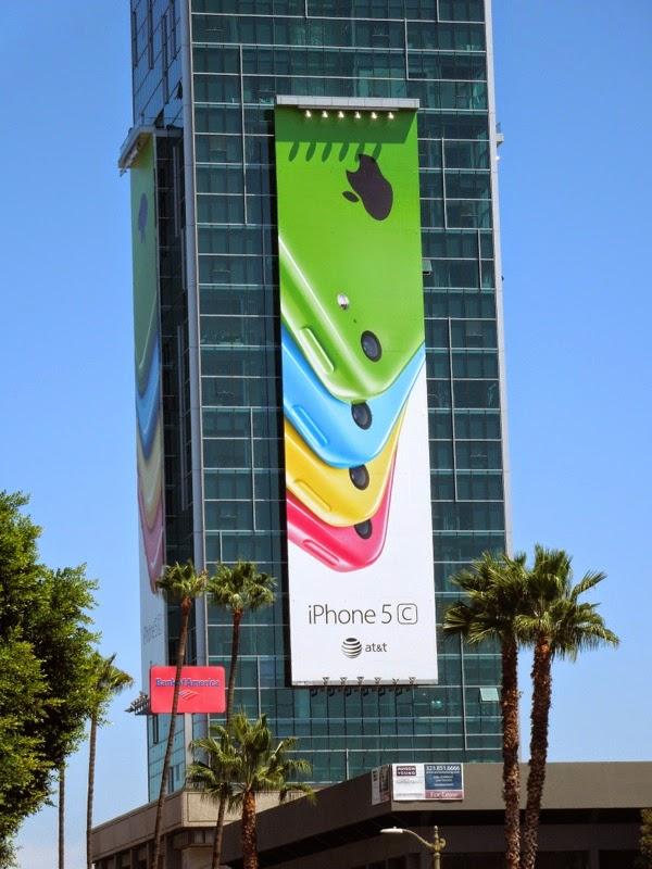 Apple iPhone 5c billboard