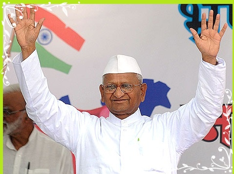 Anna Hazare Latest News Images/Pics Biography Videos Lokpal Bill awards Gallery Quotes