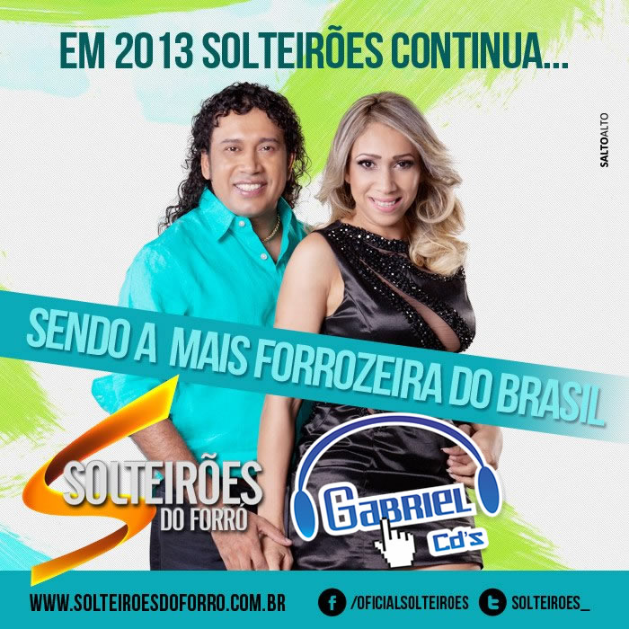 baixar cd Solteires do Forr - Promocional Maio 2013