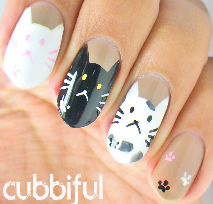 Cubbiful: Cat Nails #A2Znails