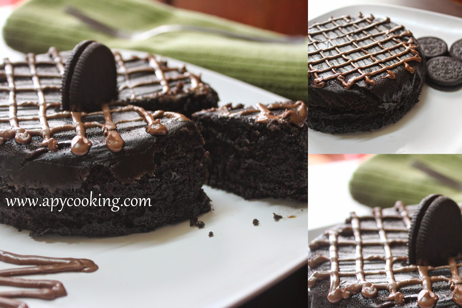 Apy Cooking Super Easy 5 Minute Eggless Microwave Oreo Biscuit Cake