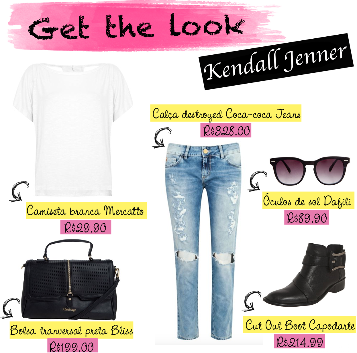estilo, look, style, kendall jenner