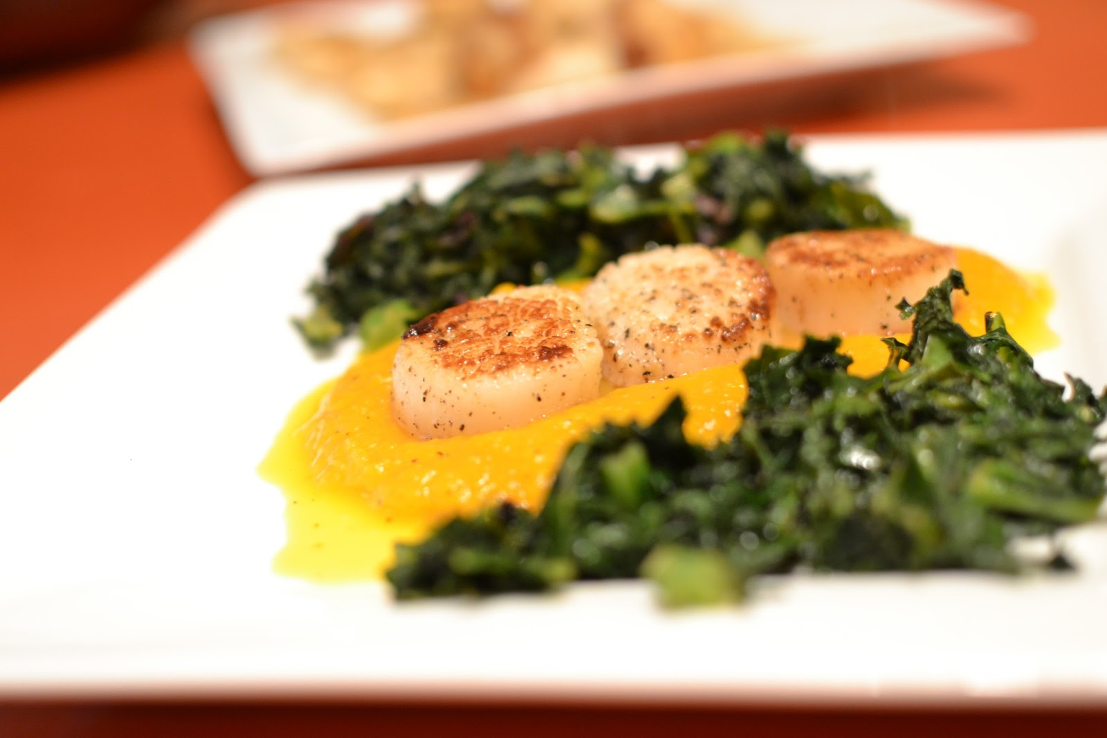 Sauteed Scallops And Swiss Chard Recipe — Dishmaps