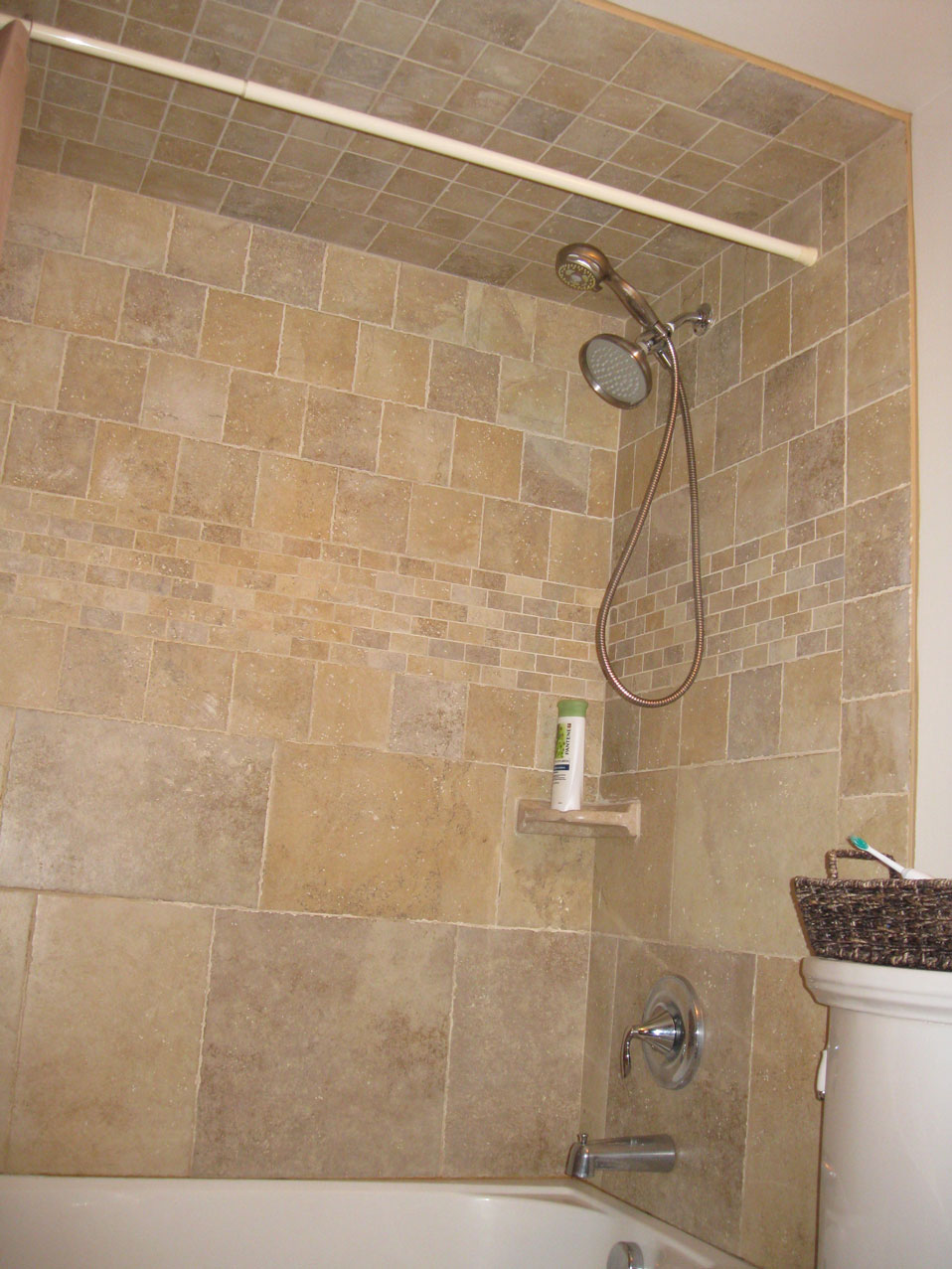 Shower Stall Tile Ideas   Car Interior Design