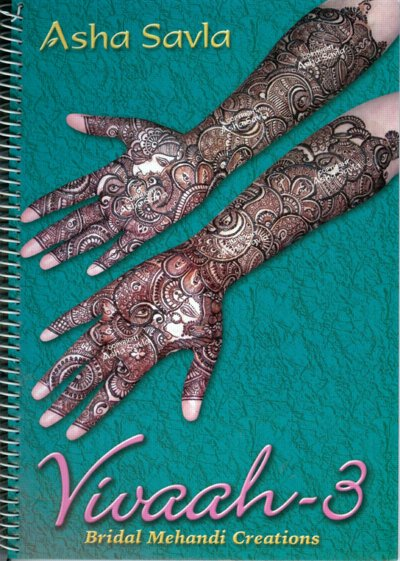 Asha Savla Bridal Mehndi Designs Book