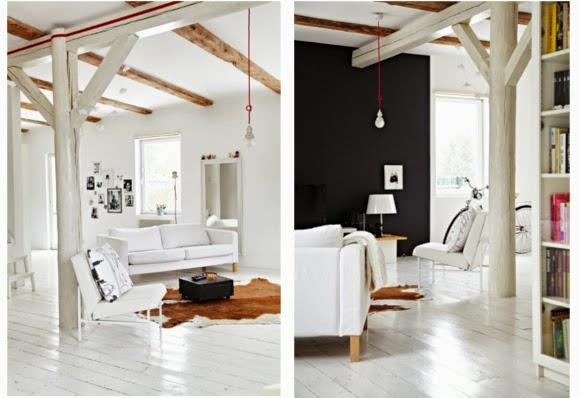 Nowoczesny apartament w stylu Nordic