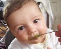 PURÉ DE PLÁTANO comidaparabebes.blogspot.com/