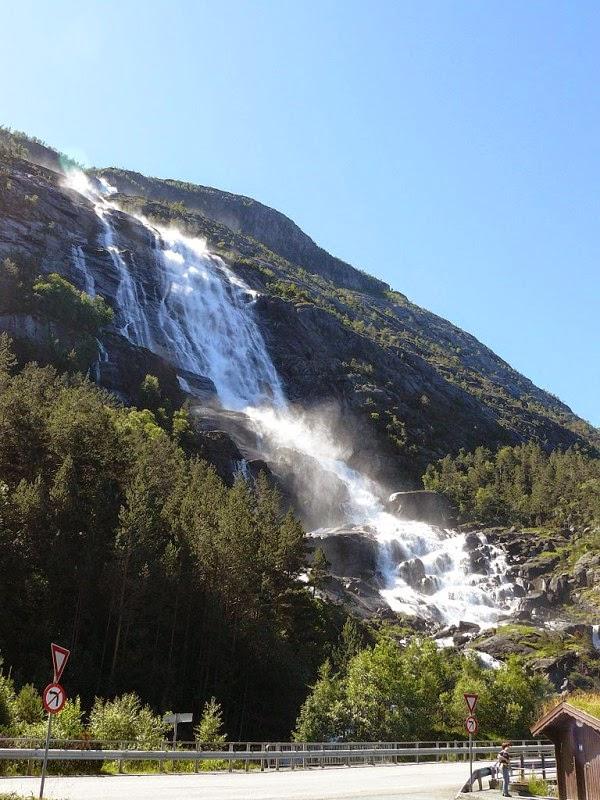 Langfoss, Langfossen, Norway