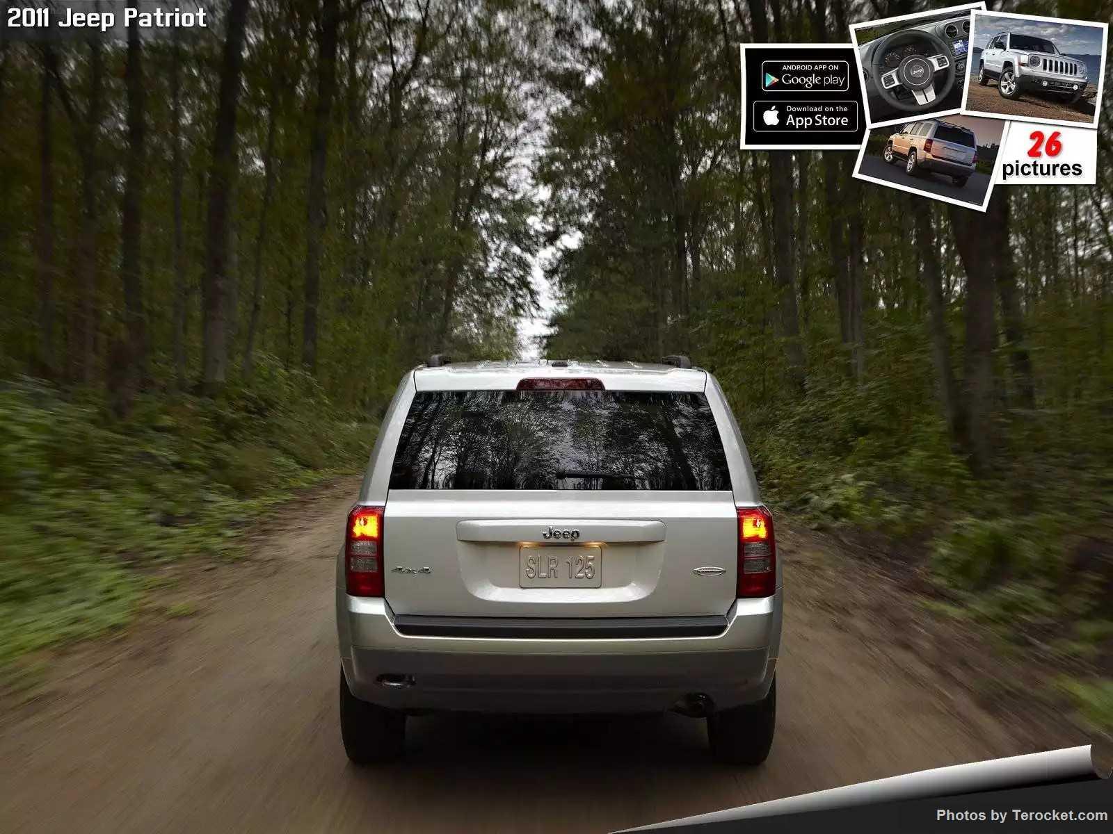 Hình ảnh xe ô tô Jeep Patriot 2011 & nội ngoại thất