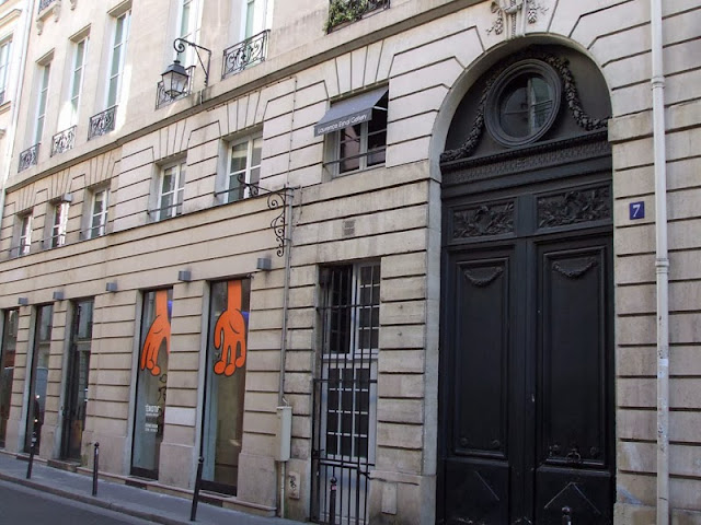 7 Rue Bonaparte, Paris, la galerie Laurence Esnol