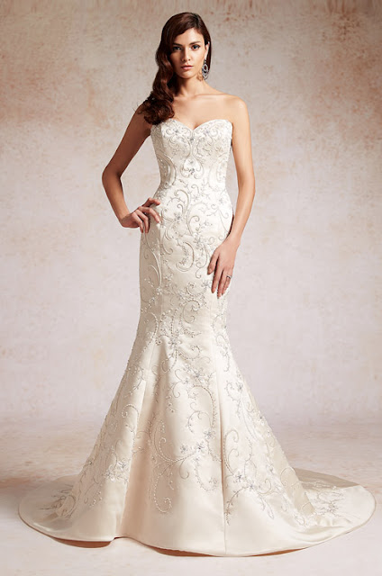 Jim Hjelm Wedding Gowns 48 Simple Jasmine Couture Fall Wedding