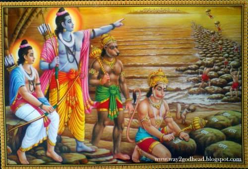Lord Rama, Laxman and hanuman